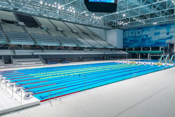 2017 FINA World Swimming Championships utilises Agrob Buchtal tiles for pool interior, concourse and surrounds.