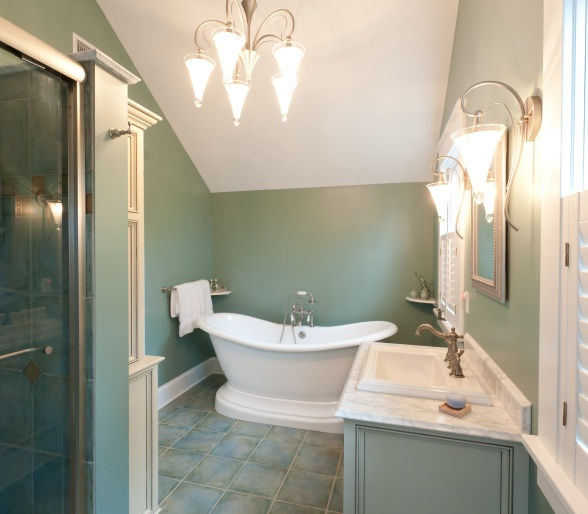 10 Stunning Transitional Bathroom Design Ideas To Inspire You: Nice Master Bathrooms