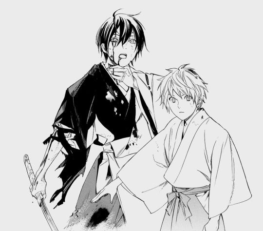 My babies fighting together <3 | Yato and Yukine | Noragami