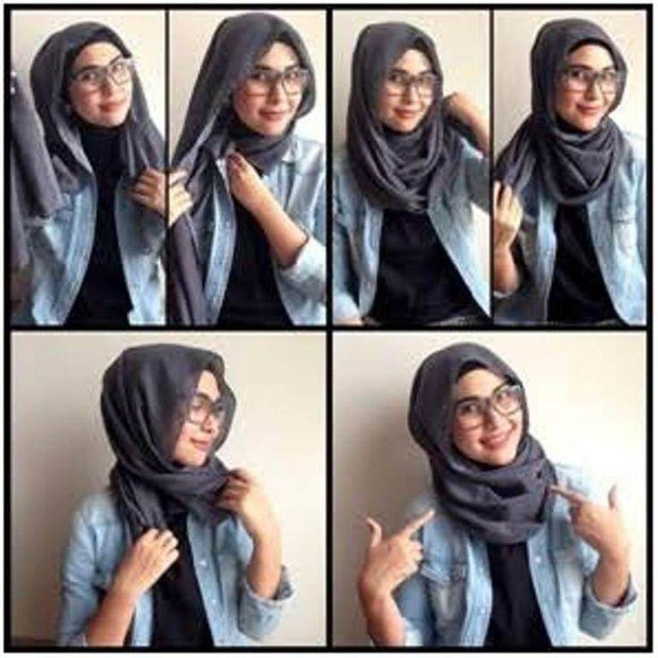 Tutorial Hijab Pashmina Simple Modern untuk Momen Santai