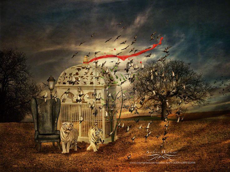 The cage of ... by vidimento.deviantart.com on @deviantART