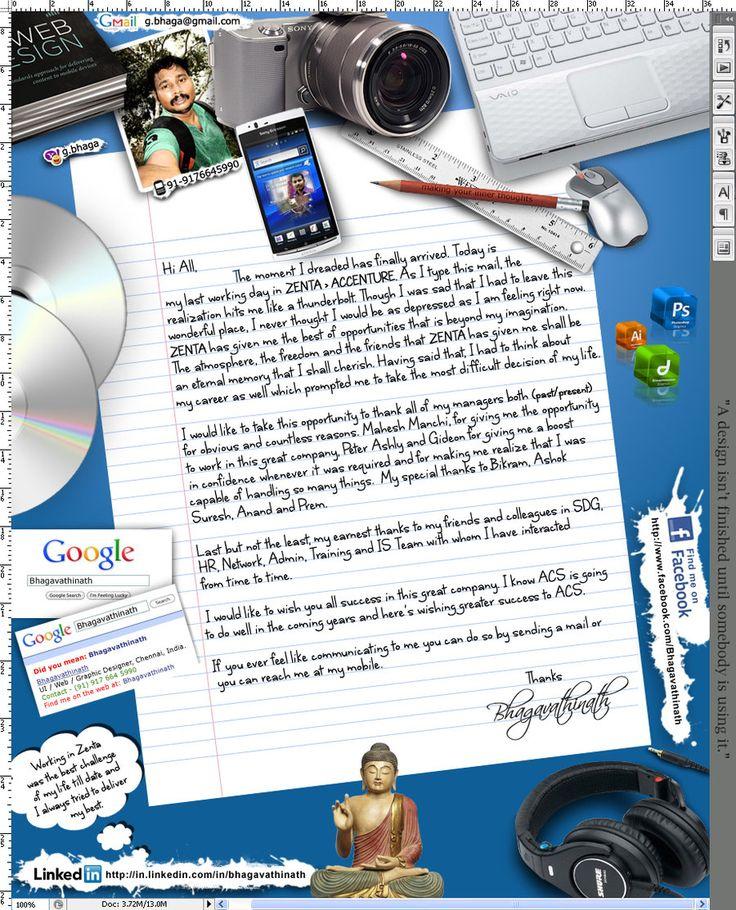 Creative Bid Adieu Mail by g-bhaga.deviantart.com on @DeviantArt