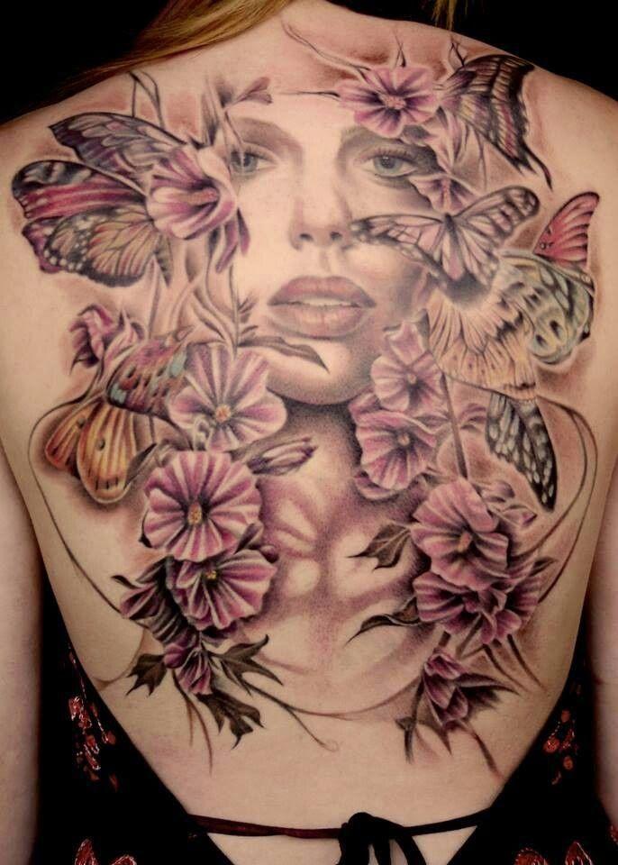 Angel Wings Tattoos designs, Angel Wing Butterfly tattoos, Tattoos of Beautiful Angel with Wings