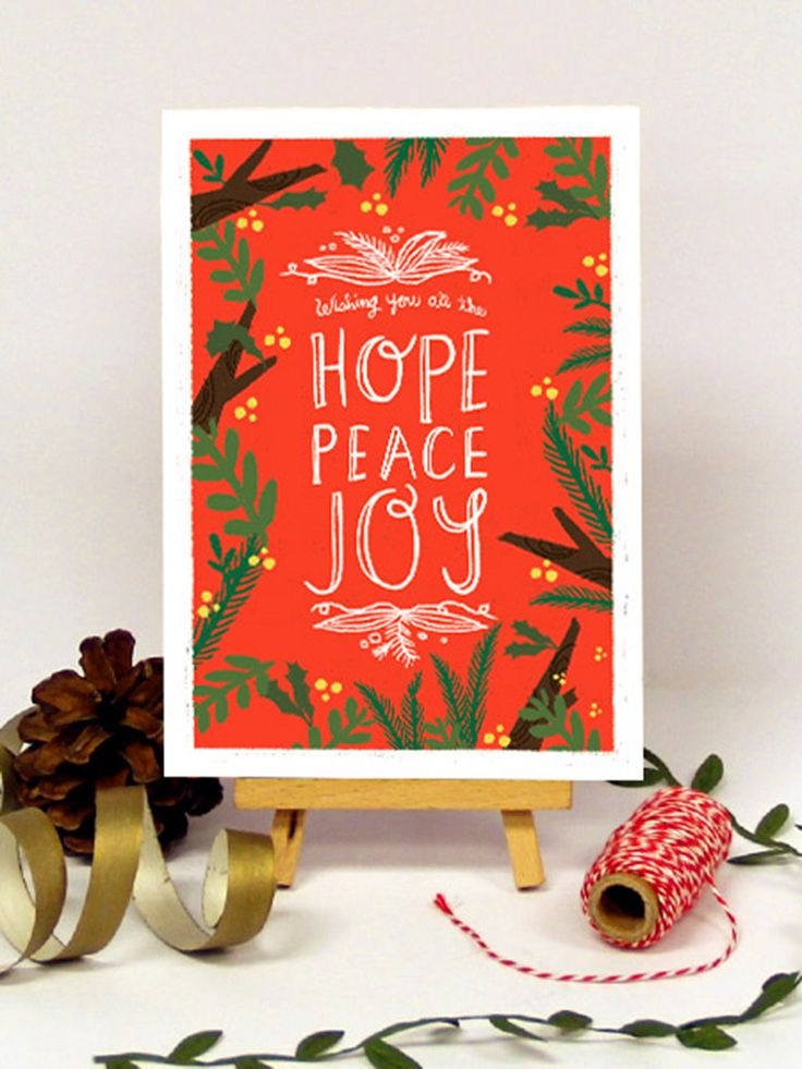 Happy Holidays Holiday Greeting Cards by Oubly.com