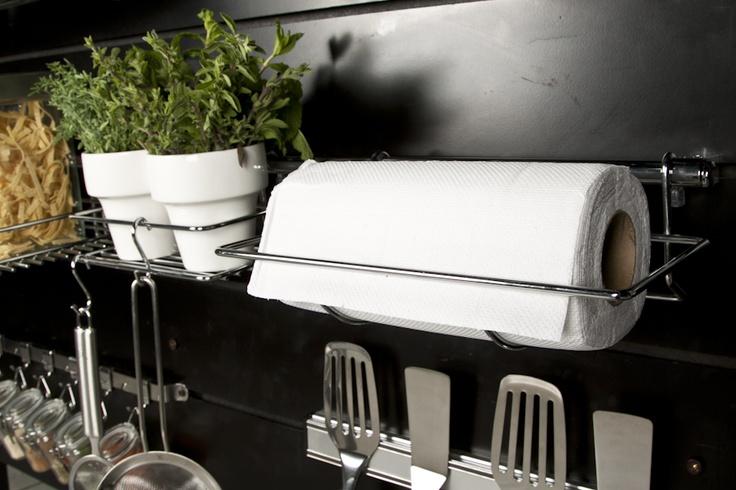 Dispón de espacios especiales en tu cocina donde puedas mantenerla limpia y hermosa