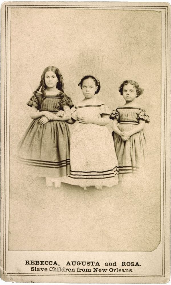 "Historic Photographs Of ""White"" SlavesCivil Wars, African American, New Orleans, Slave Children, Augusta, Eastman House, Historicvintag Photos, Black History, Historical Photographers"