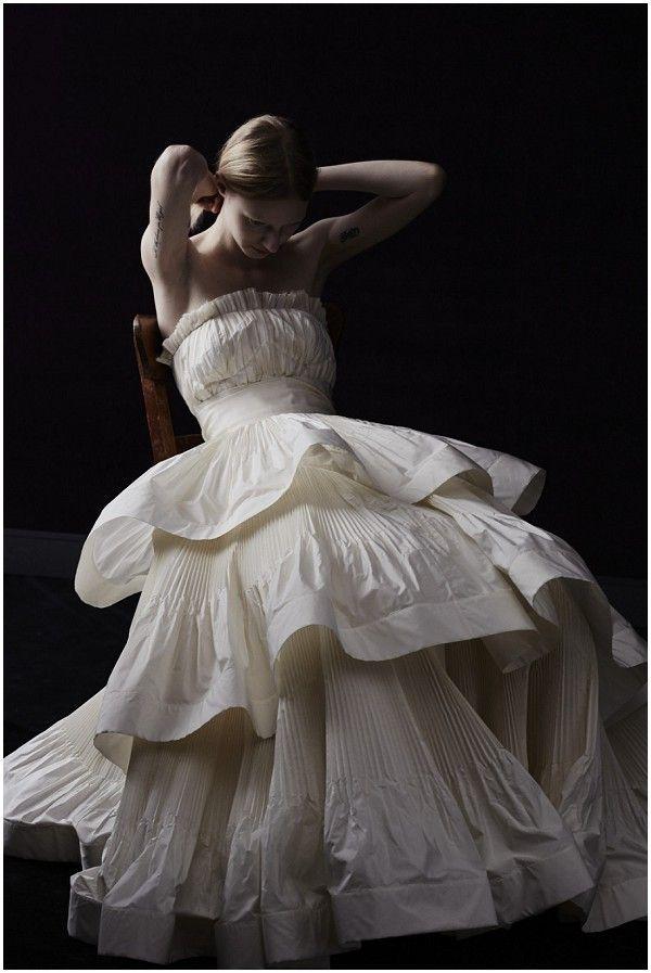 french wedding dress lanvin Adrienne Boy in weddingdress