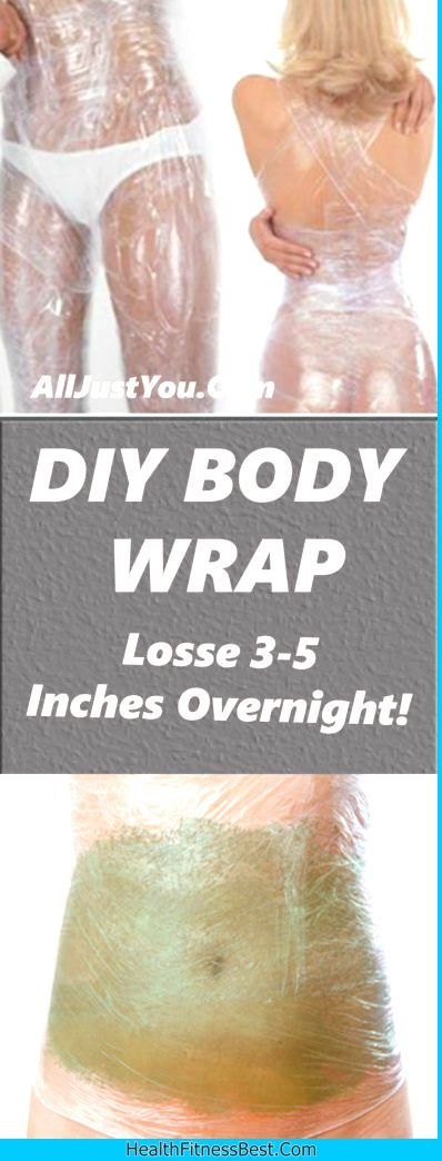 DIY BODY WRAP FOR WEIGHT LOSS - #weight #loss #body #lose #health