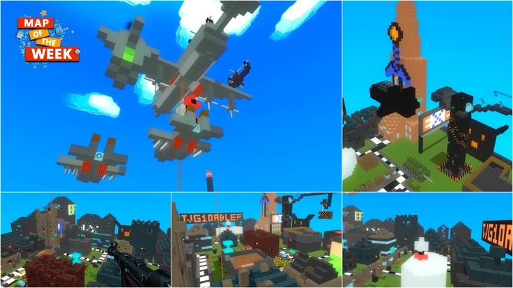 "Brick Force Tr: TG10Able6'dan ""Cityscape"""