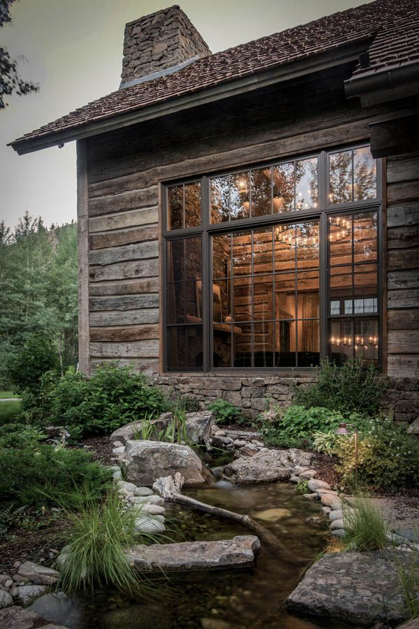 Best 25 Contemporary Cabin Ideas On Pinterest