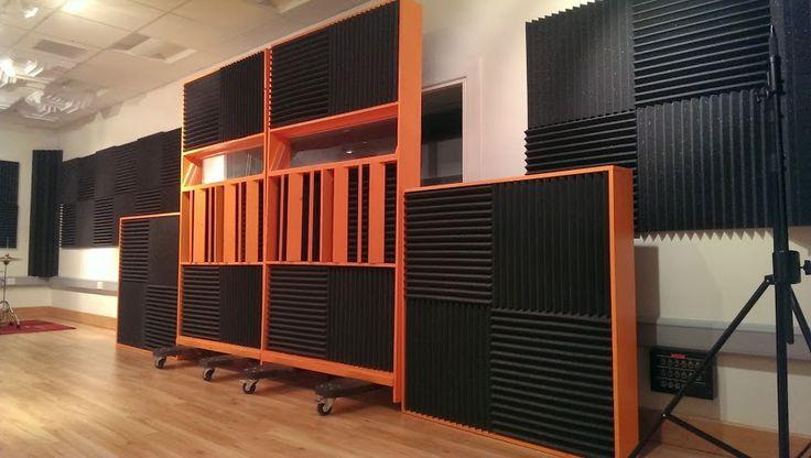 113 best recording studios images on pinterest music for Best flooring for recording studio