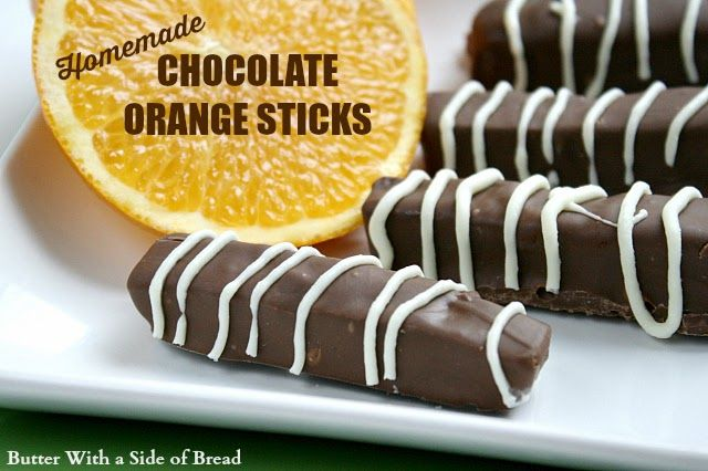 These Homemade Chocolate Orange Sticks are so delicious and the perfect thing to take to any holiday party!