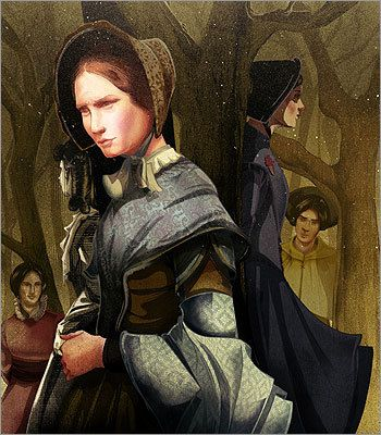 """Jane Eyre from """"Jane Eyre"""" by Charlotte Bronte"""