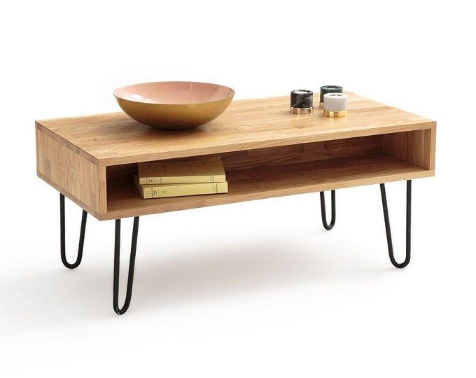 Large Turntable Stand And Vinyl Record Storage Iroko African Etsy Oak Coffee Table Coffee Table Large Coffee Tables