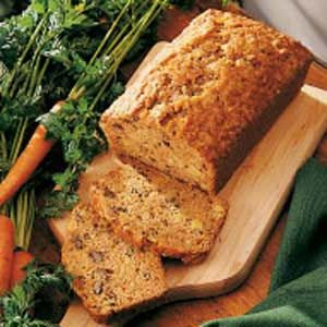 Pineapple Carrot Bread Recipe -My home is located in the Delaware Valley of Pennsylvania. This bread has the wonderful flavor of carrot cake, which is dearly loved in this part of the country. Because it's made with carrots, this bread is nutritious as well as economical-two important qualities in my home.