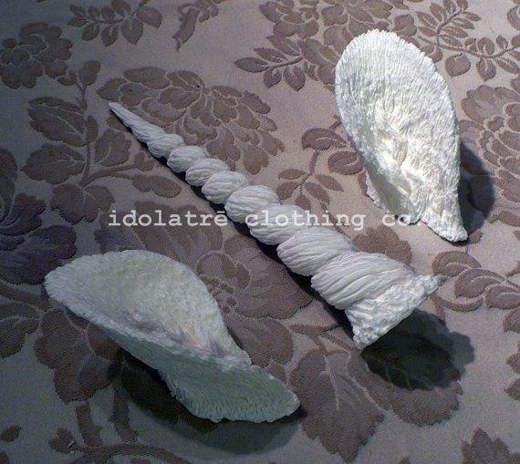 Unicorn Horn and Ears by idolatre on Etsy