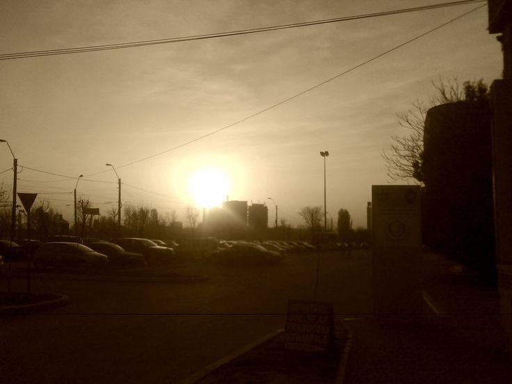Apus de soare - Iasi - Photo