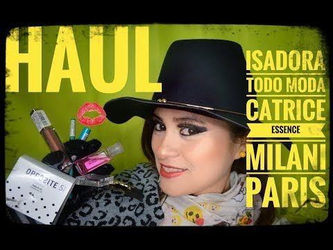HOUL DE COMPRAS EN ISADORA, TODO MODA, PARIS, PLAZA NORTE, MAQUILLAJE CATRICE, ESSENCE, MEDIAS - YouTube