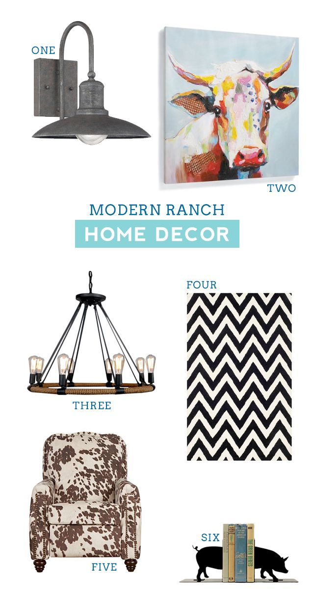 Modern Ranch Home Decor – Stock Show Boutique