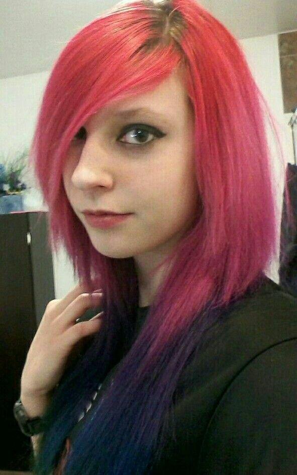 Rainbow hair Viro Psycho