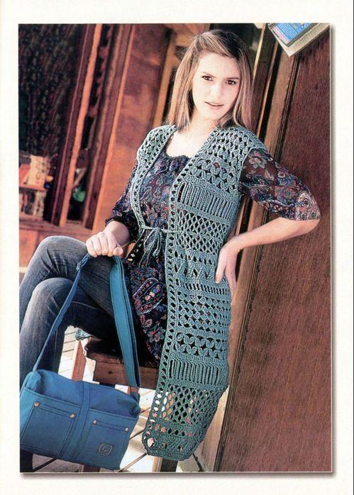 Irish crochet &: CROCHET VEST