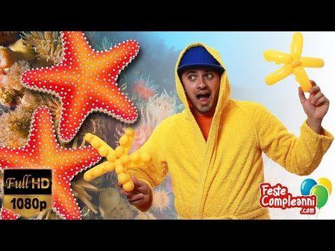 Balloon StarFish - Palloncino Stella Marina- Tutorial 144 - Tutorial Balloon Art, how to twist a StarFish with Balloons. Decorare con palloncini - Stella Marina - Decoriamo con i palloncini modellabili, oggi vedremo come costruire una splendida Stella Marina per addobbare le vostre feste a tema. Feste Compleanni - YouTube