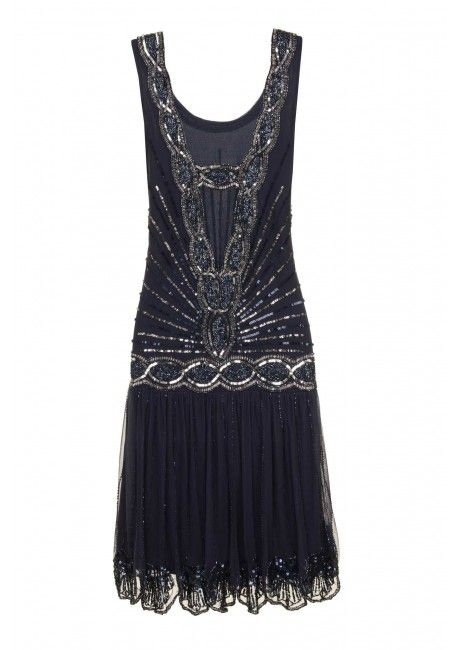 Within top 5 choice for my dress: Zelda Flapper Dress Navy