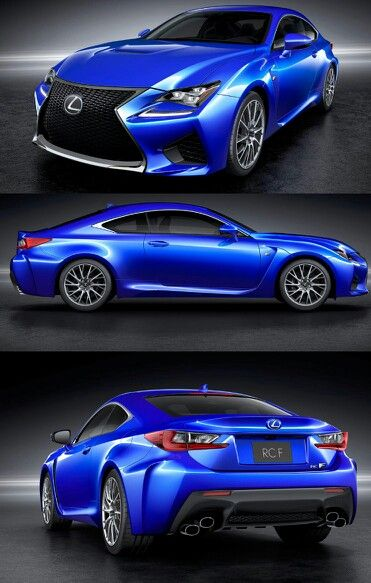 Lexus RC F, the F spec version of the RC comes with carbon fibre body parts, active rear spoiler, a 477bhp 5.0 V8 engine and an 8 speed auto gearbox