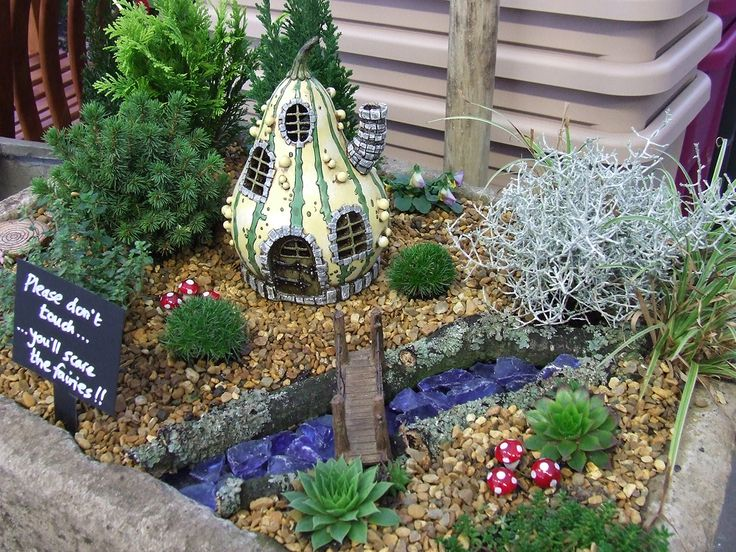 700 best Fairy Gardens images on Pinterest Fairies garden Gnome