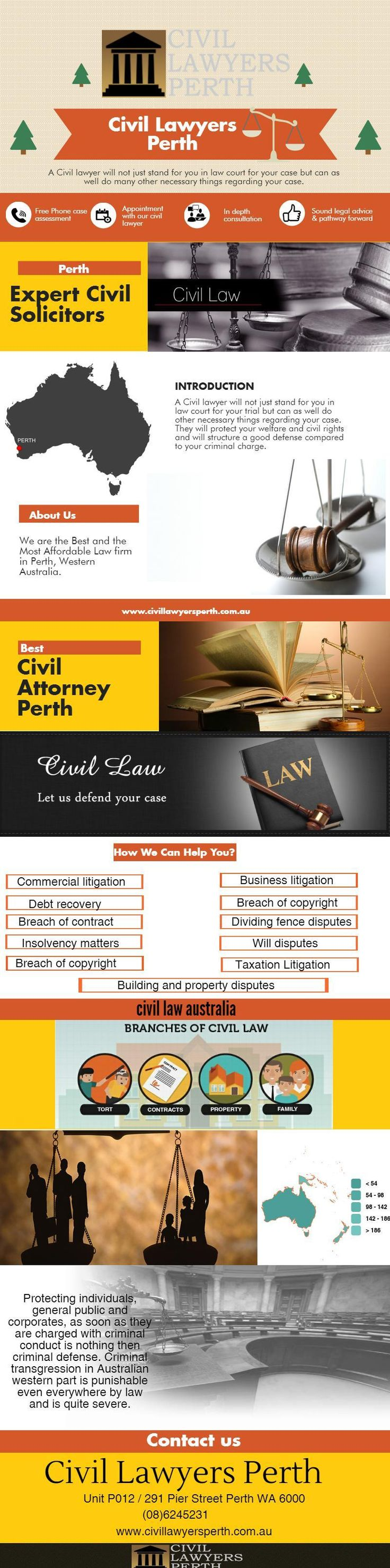 If you have struggled with a wrong legal dispute and chose to go to court. You need to consult with a professional Civil Lawyers Perth. Civil Attorney Perth can give you advice on how to best take care of your legal complication.