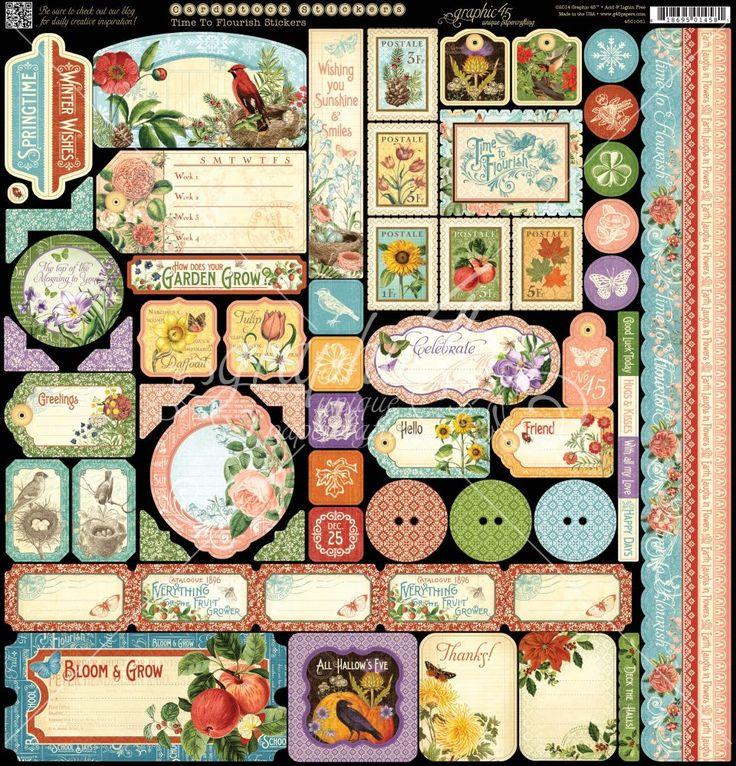 Graphic.45.Time.To.Flourish.-.Calendar.-.25.of.36.-.Decorative.Sticker