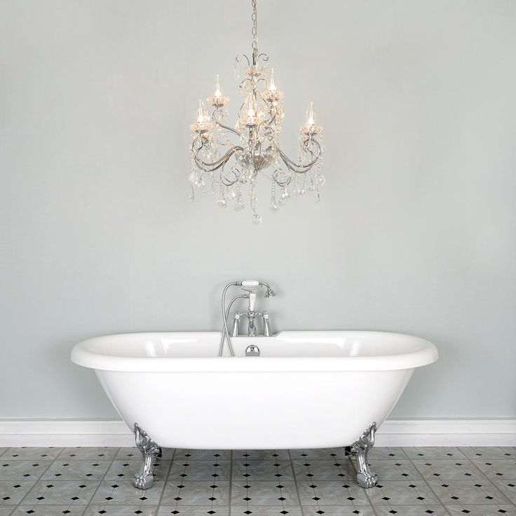 21 best bathroom chandeliers images on pinterest bathroom bathroom chandelier w crystal glass beads and droplets 9 lights chrome mozeypictures Image collections