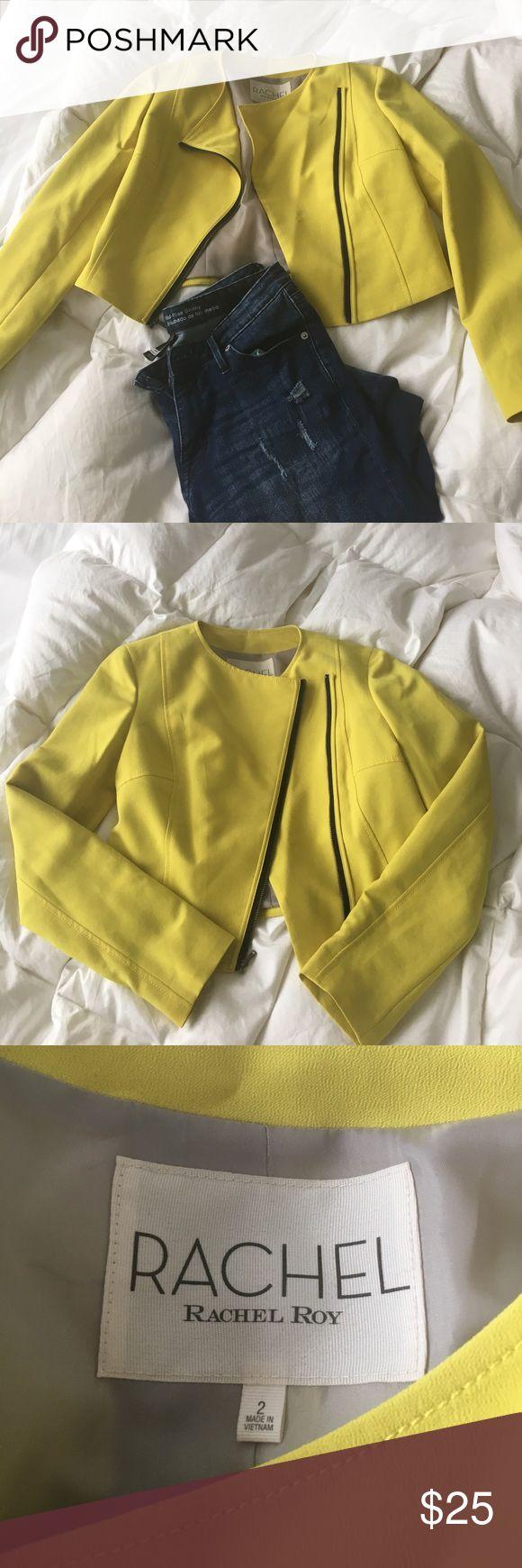 Rachel Roy lime green zip up Never worn. Rachel Roy zip blazer. RACHEL Rachel Roy Jackets & Coats Blazers