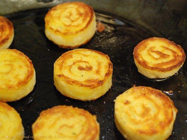 Gebratene Kartoffelroulade / Kochkiste