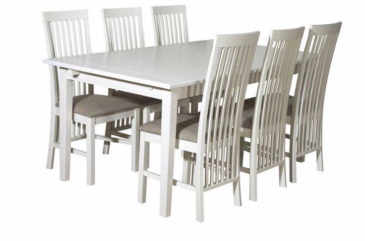 FINN – Stort hvitt spisebord gis bort grunnet flytting