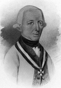 Peter Vitus von Quasdanovich .Peter Vitus von Quosdanovich, né le 12 juin 1738 à Žumberak et mort le 13 août 1802 à Vienne, est un général autrichien. Feldmarschall-Leutnant et commandeur de l'ordre militaire de Marie-Thérèse, il joue un rôle important dans plusieurs batailles contre l'armée française d'Italie. Battu par Napoléon Bonaparte à la bataille de Lonato, il se montre inefficace à Rivoli.
