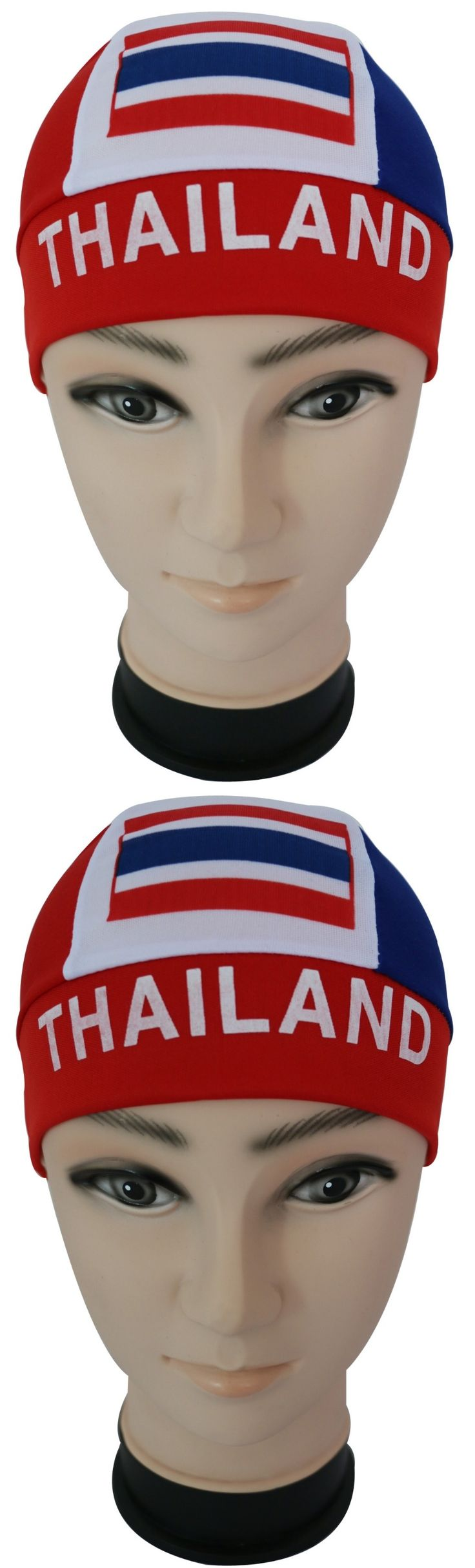 Free Shipping 2017 New Casual Soprt Thailand National Flag Durag Cap For Mens