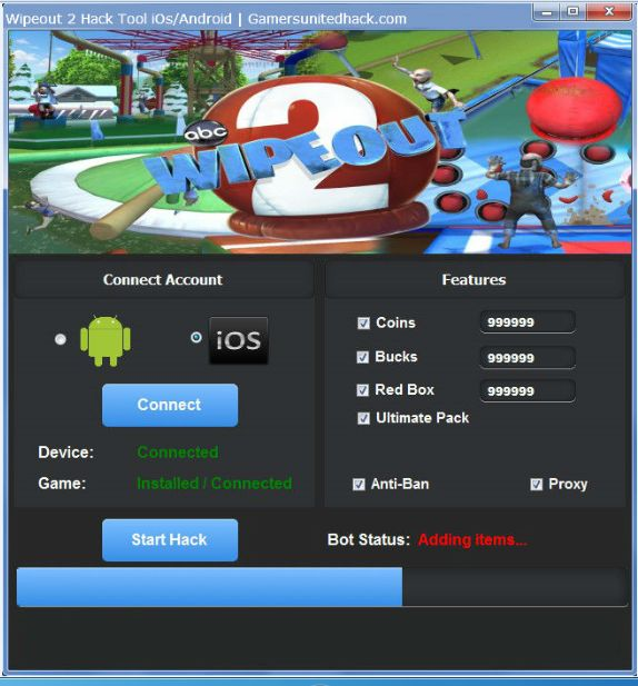 Wipeout 2 Hack Tool ios/android