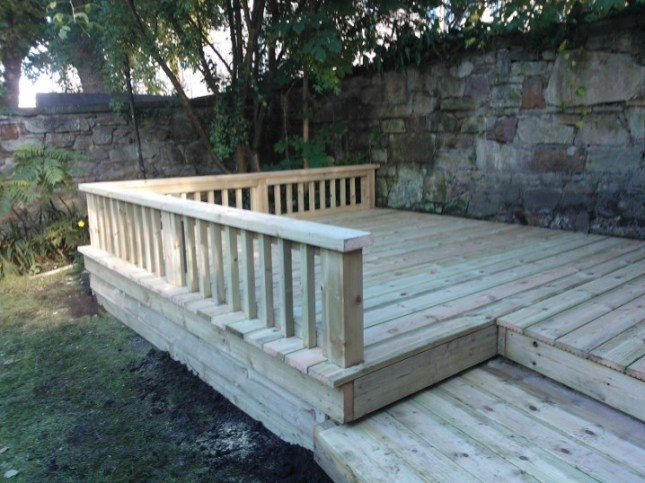 The Garden Construction Company  Decking Edinburgh Landscaping | Edinburgh  Landscaping And Decking Service,Landscapers