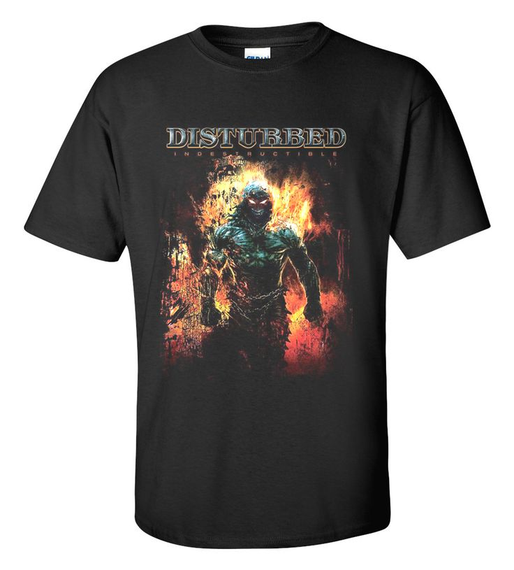Disturbed T-shirt M/L/XL/2XL/3XL Clothing Tshirt