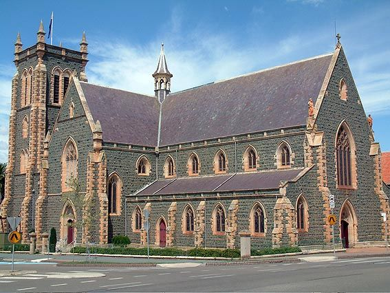 SS Peter and Pauls Old Catholic Cathedral - Goulburn. Stayed in the worst Big 4 caravan park here. Dirty everything. We checked out two days early but did see this beautiful old church on the way to our next destination......