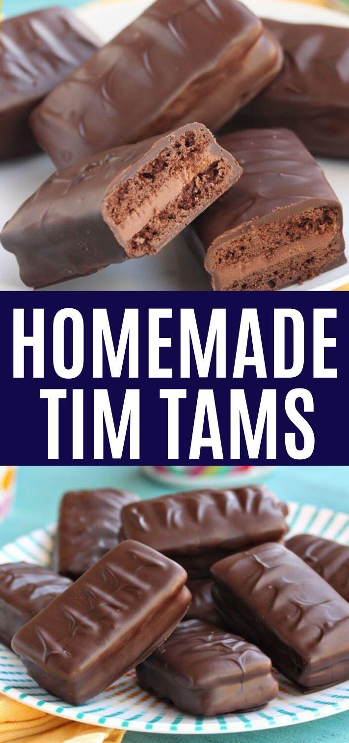 Tim Tams Homemade