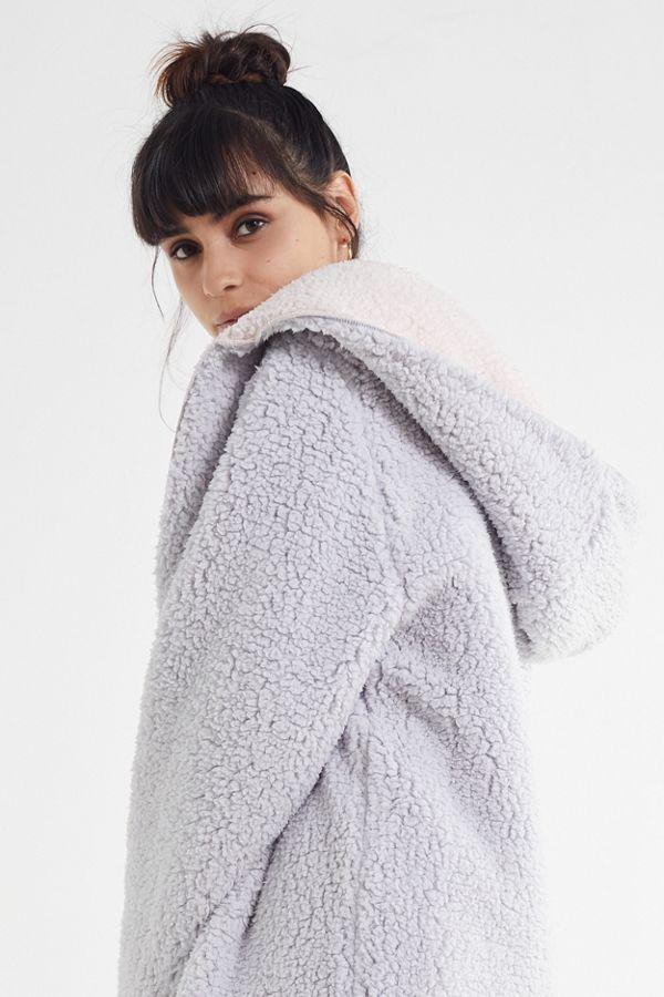 f74a0a5ddc UO Carmella Cozy Reversible Teddy Coat