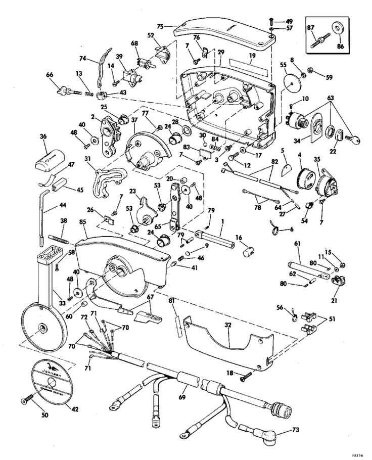 Yamaha Outboard Throttle Wiring