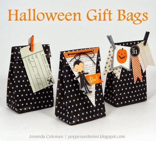 Halloween Party Favor Bags by Amanda Coleman