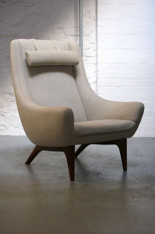 Lounge chair, Illum Wikkelso (1960s)