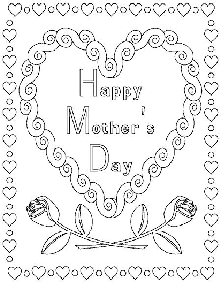 Let's Celebrate!: Mother's Day Coloring Pages, Coupons and