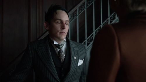 New party member! Tags: fox please gotham thank you penguin fox tv mad city oswald cobblepot robin lord taylor