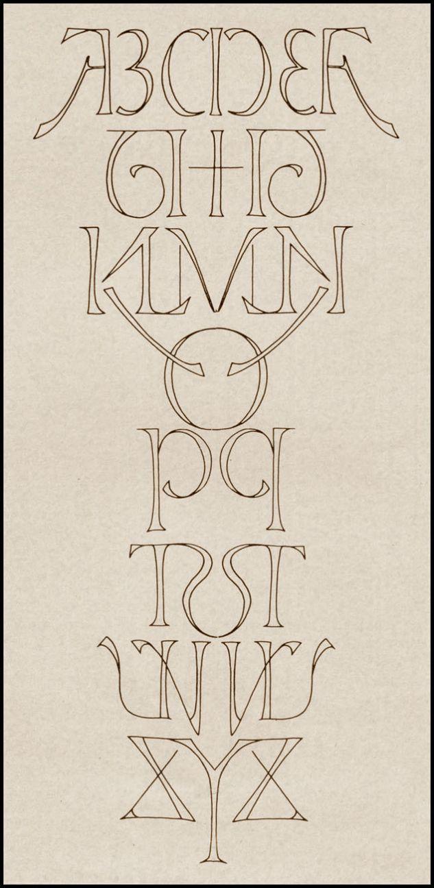 silentgiantla:    Symmetric Alphabet