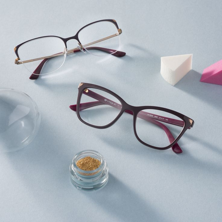 Playful frames blend together nicely with a quick pop of gold.
